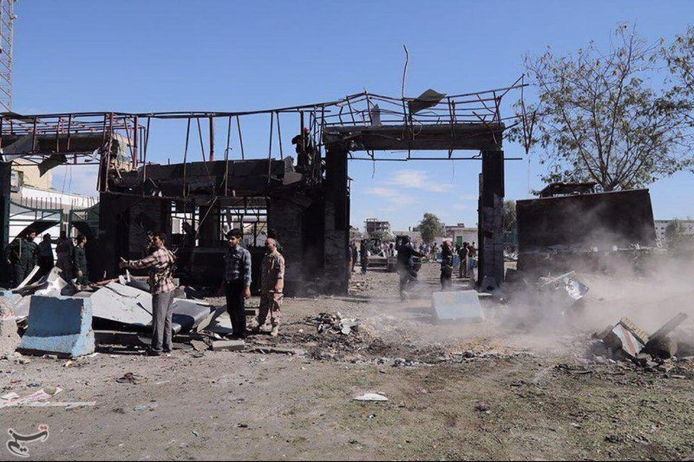 انفجار تروریستی چابهار