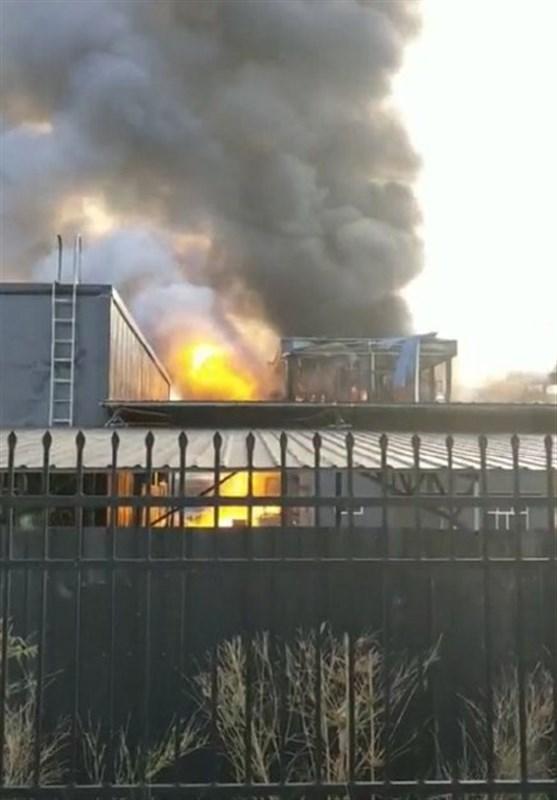 انفجار در کارخانه مواد شیمیایی در چین