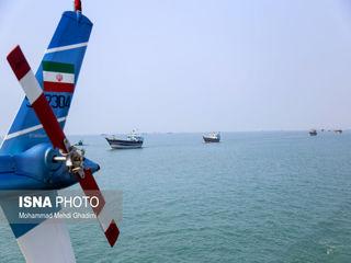 مراسم رژه نیروهای مسلح در خلیج فارس