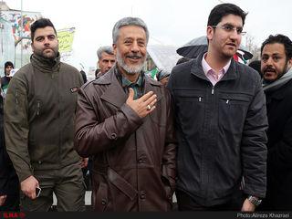 حضور شخصیت ها در راهپیمایی 22 بهمن