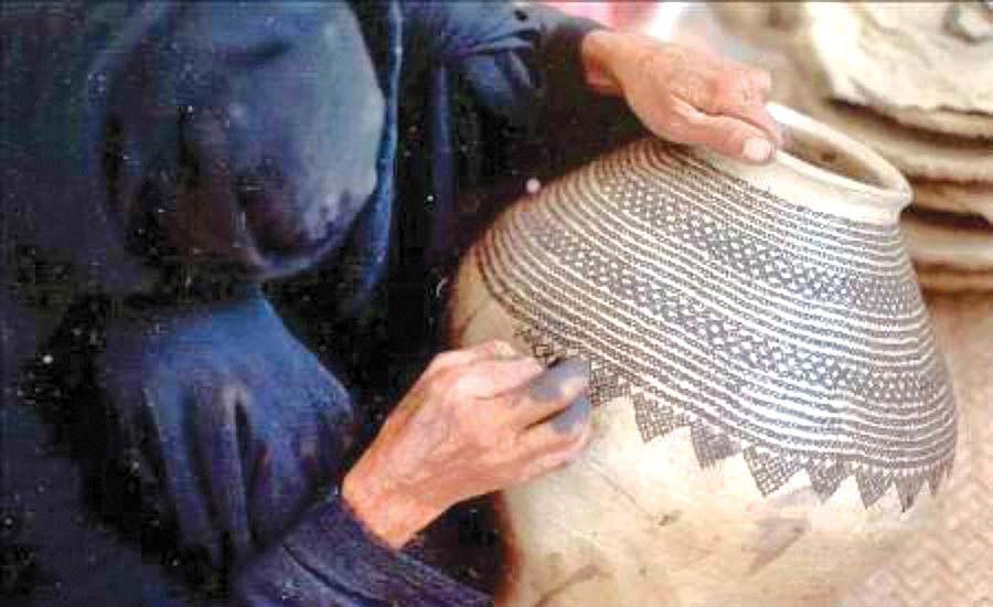 سفالی به قدمت 7هزار سال