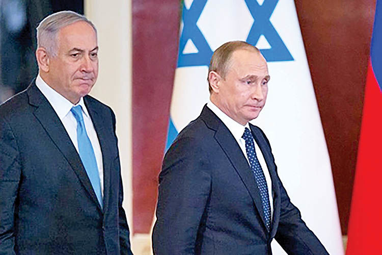 تنش در روابط روسیه و اسرائیل