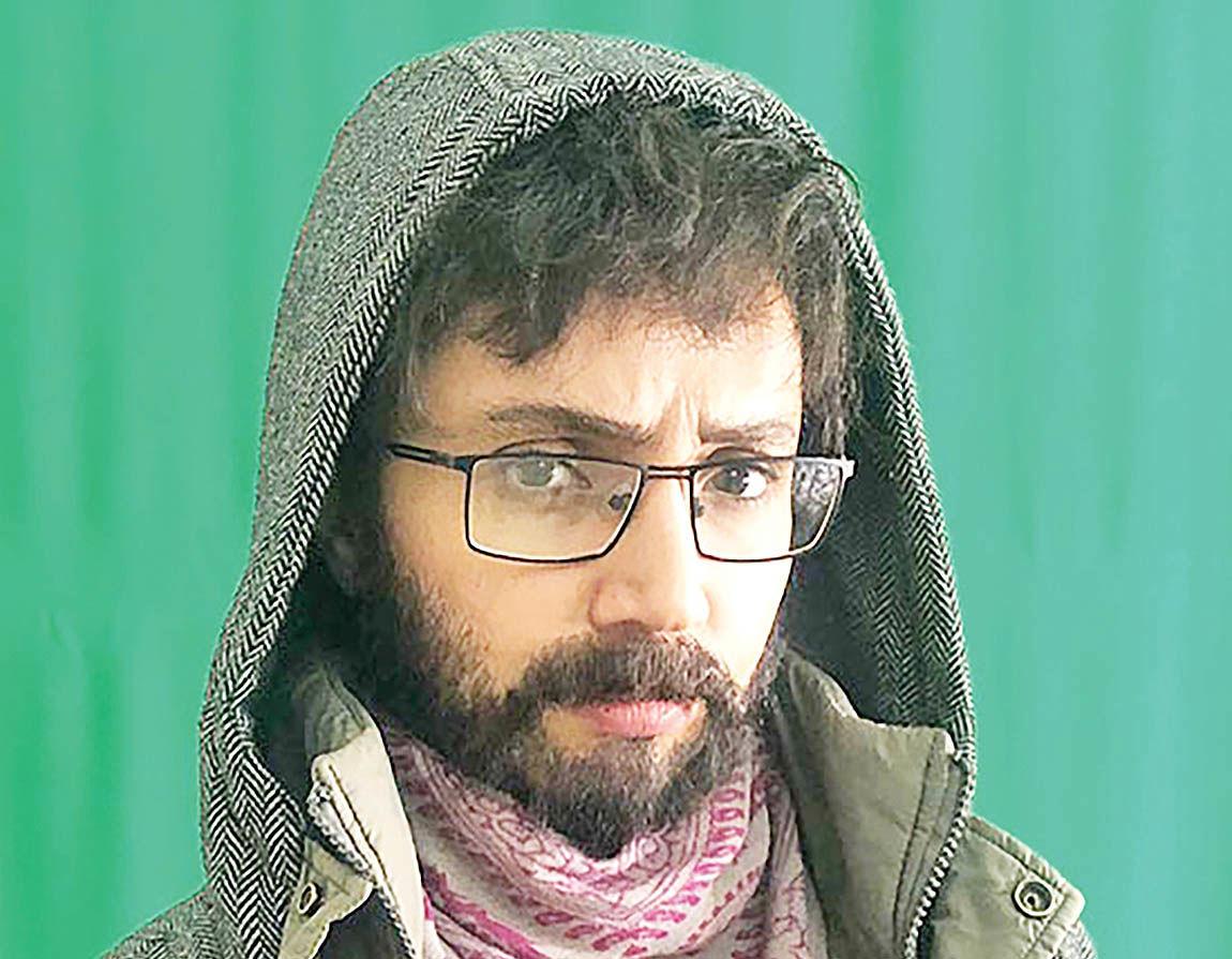 گریم مردانه شبنم قلی خانی در فیلمی جدید