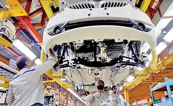 حرکت خودرو در جاده سنگلاخ تولید