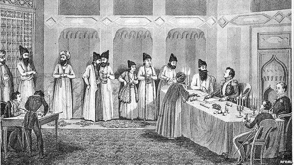 عهدنامه گلستان، پیروزی روسها