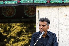 عادل فردوسیپور در مراسم تشییع پیکر مهدی شادمانی خبرنگار ورزشی