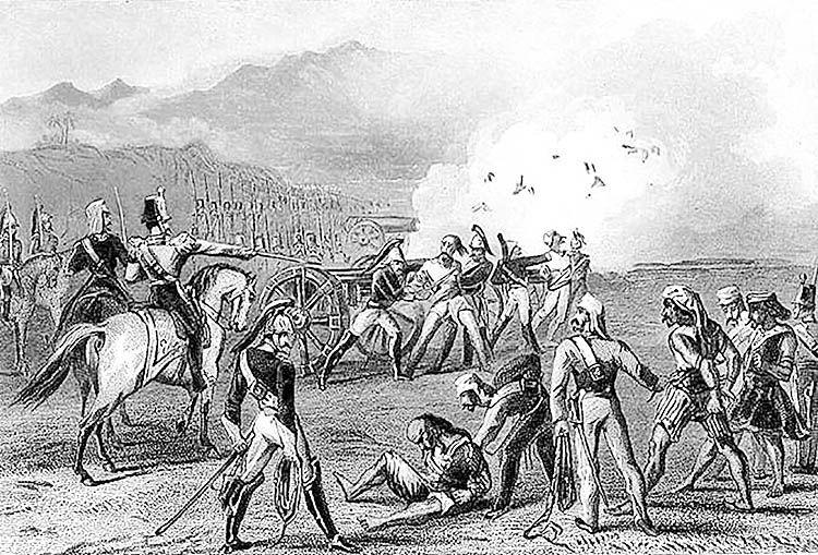 محاصره دهلی و انقلاب هندیها