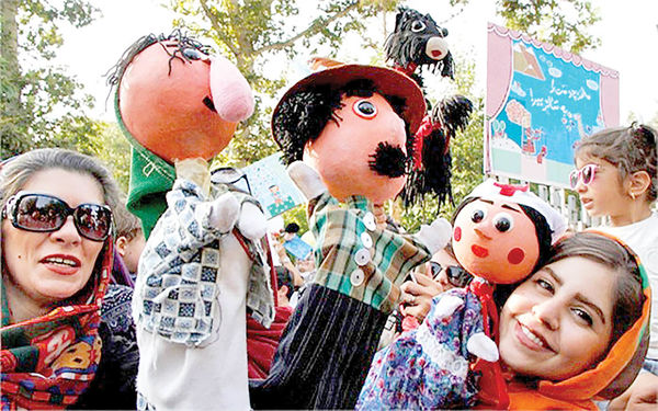 کارناوال عروسکها در پایتخت