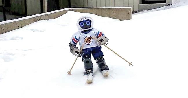 روبات اسکیباز