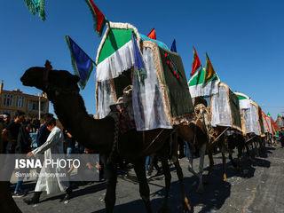 ورود نمادین کاروان امام حسین(ع) به دشت کربلا