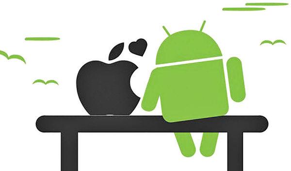 وفاداری کاربران به سیستم های عامل گوشی
