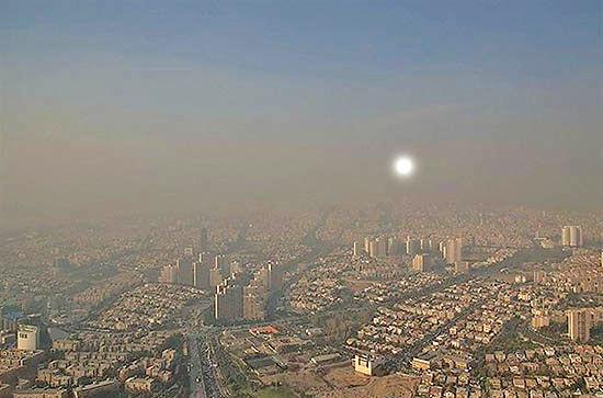 تهران جزو شهرهای دارای بیشترین ذرات معلق