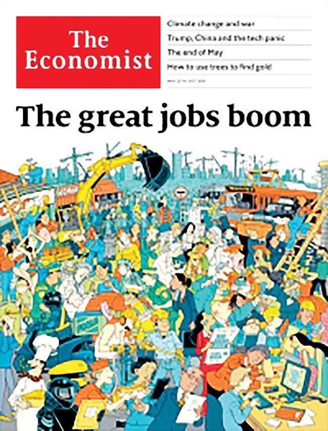 رشد بیسابقه اشتغال در جهان سرمایهداری