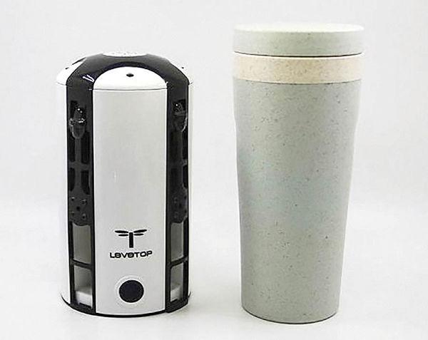 تولید پهپاد استوانهای به شکل فنجان قهوه
