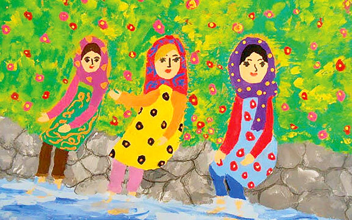 درخشش کودکان ایرانی در جشنواره نقاشی ژاپنی