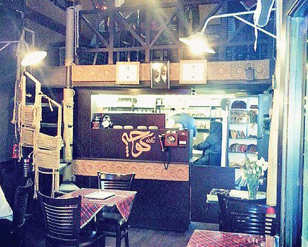 ایکس و ایگرگ در کافه کوچه