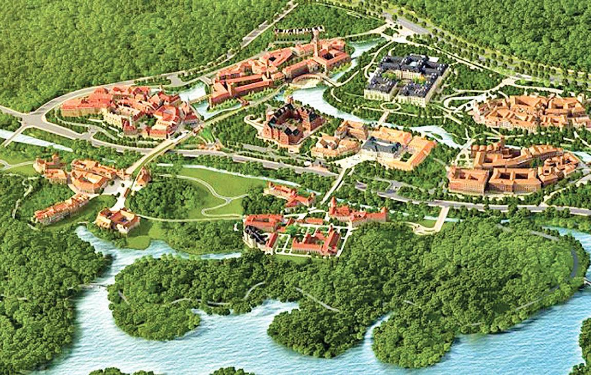 شهر اروپایی جدید هوآوی