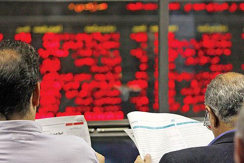 ادامه اصلاح بازار سهام