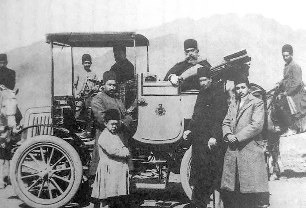 ورود نخستین اتومبیل به ایران
