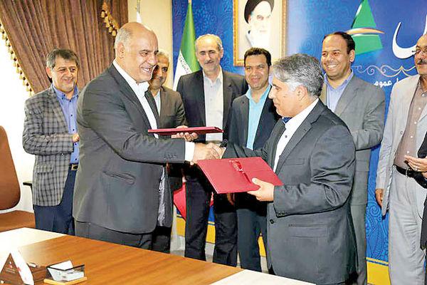 امضای قرار داد احداث خط آهن جلفا- قلی بیگلو