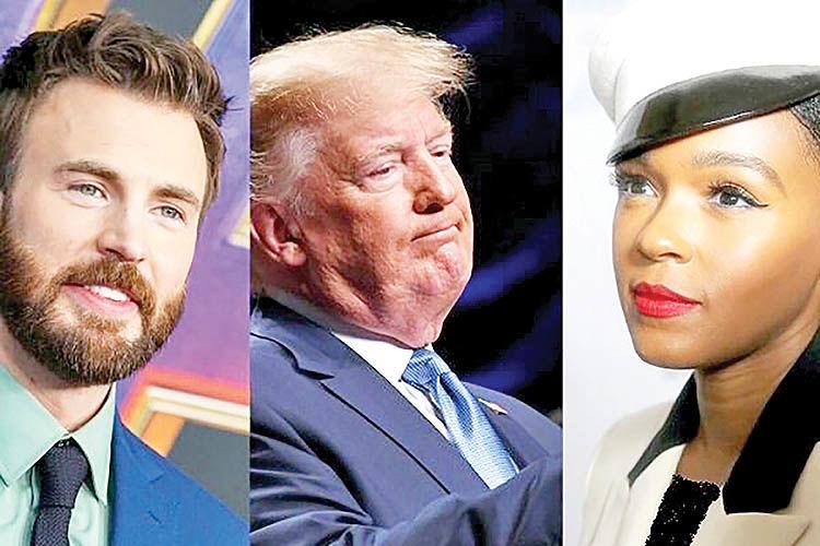 خیز دوباره هالیوود علیه ترامپ