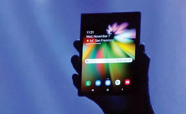 عرضه گوشی تاشوی سامسونگ با باتری دوتکه 6هزار میلیآمپری