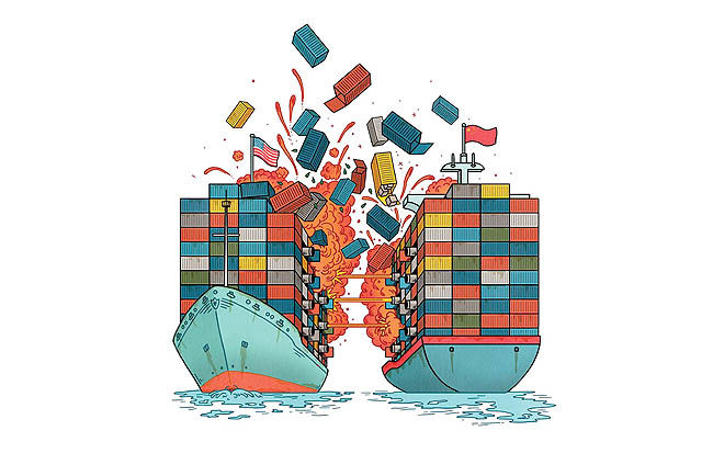 تدارک سومین «حمله تجاری»