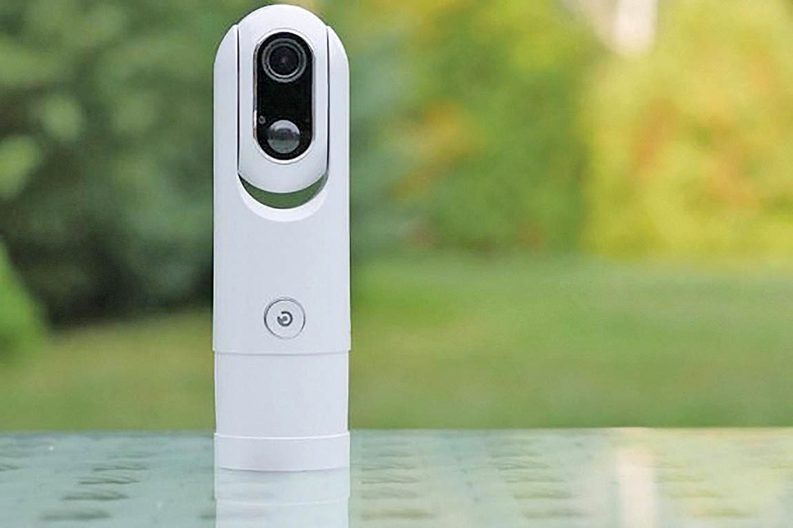 دوربین بیسیم برای شناسایی تهدیدات واقعی