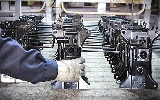 عارضه هفتگانه در فرآیند تولید قطعه
