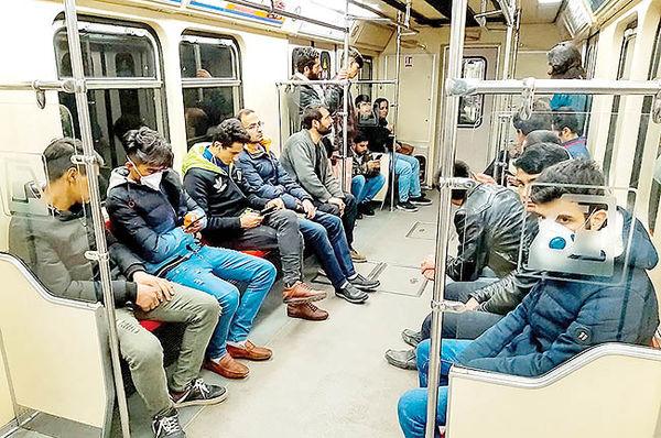زمان اجباری شدن ماسک در متروی تهران