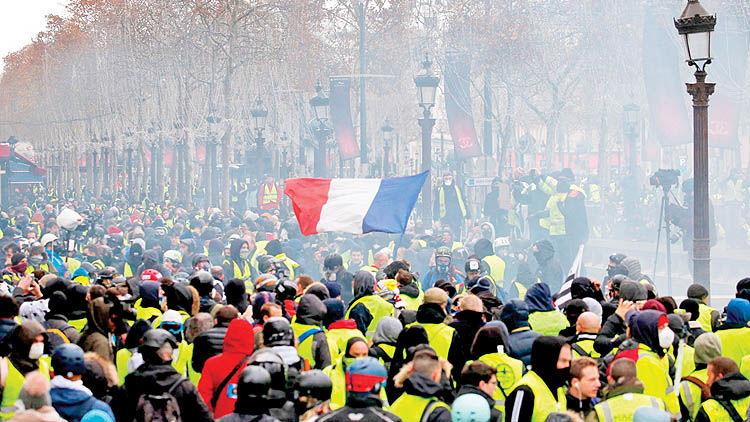 شب خشم و هیاهو در پاریس