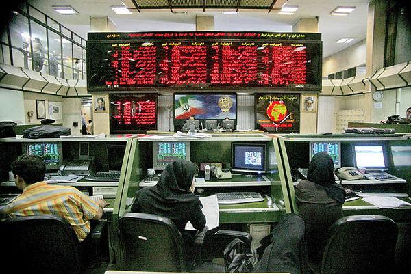 افت شاخص سهام در روز بازگشت نمادها