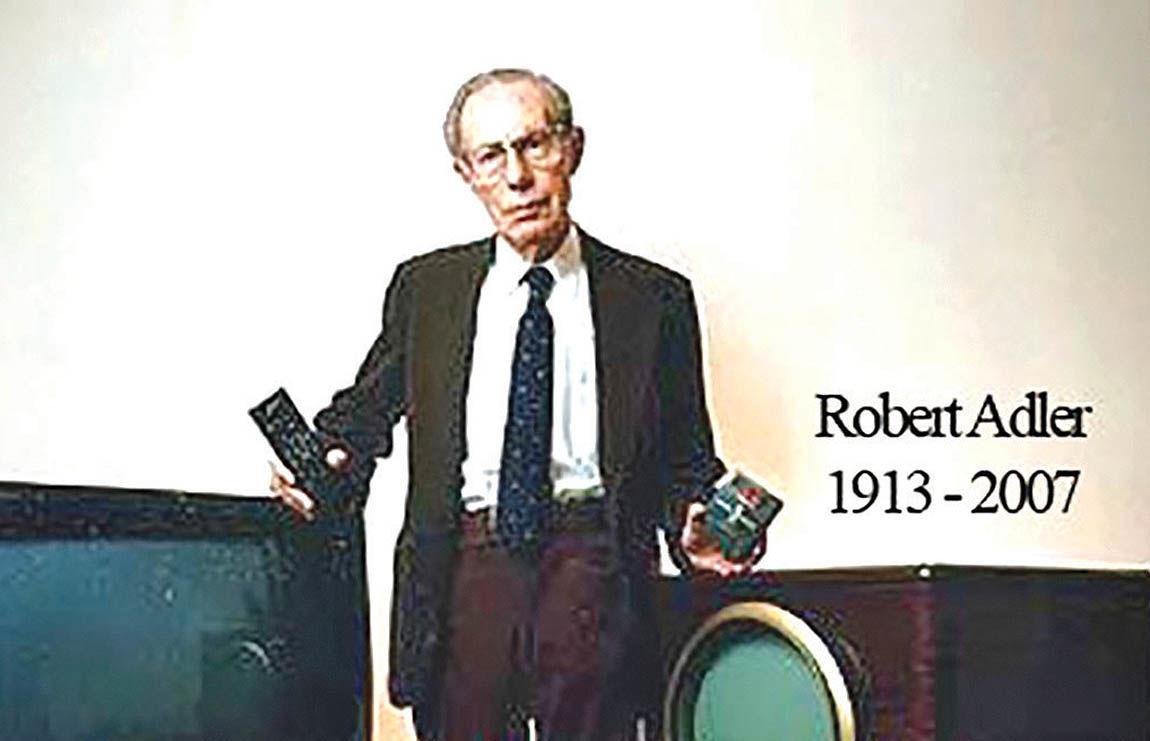 آدلر، مخترع دستگاه کنترل از راه دور