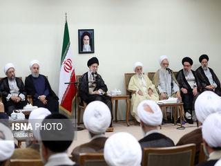 دیدار اعضای مجلس خبرگان با رهبری