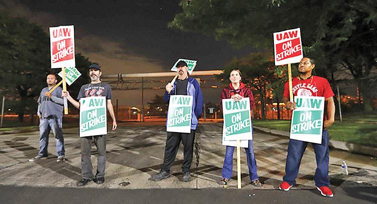 اعتصاب کارگران جیام در آمریکا