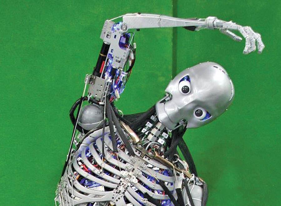 روباتهای انساننما با اسکلت انسانی