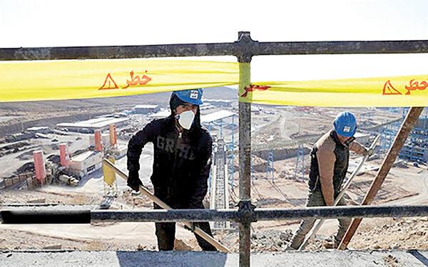 روزگار سخت 140 هزار کارگر ساختمانی