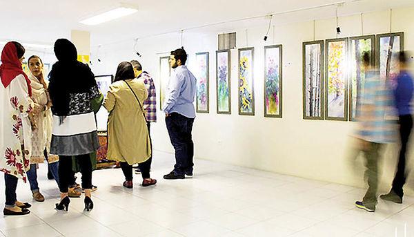 نمایش آثار بزرگان نقاشی در گالری آرتیبیشن