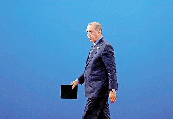 خیز اردوغان برای سکان پولی