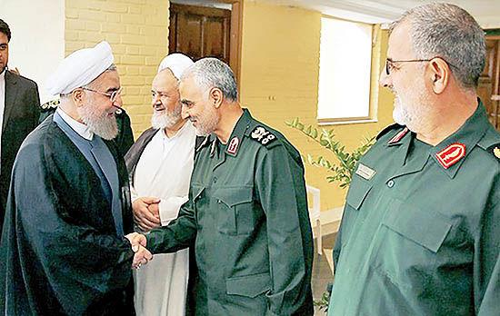 تشکر سردار سلیمانی از رئیسجمهوری