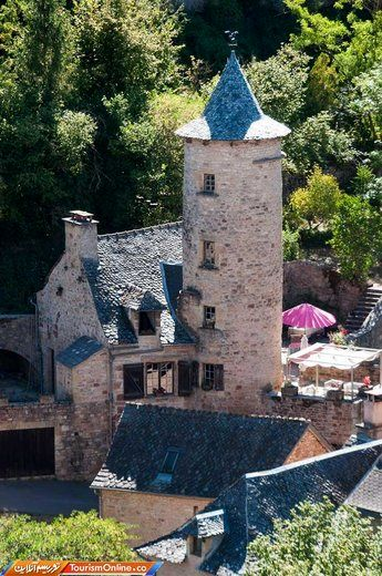 روستای بوزول فرانسه