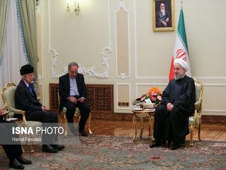دیدار رییس جمهوری با وزیر خارجه عمان