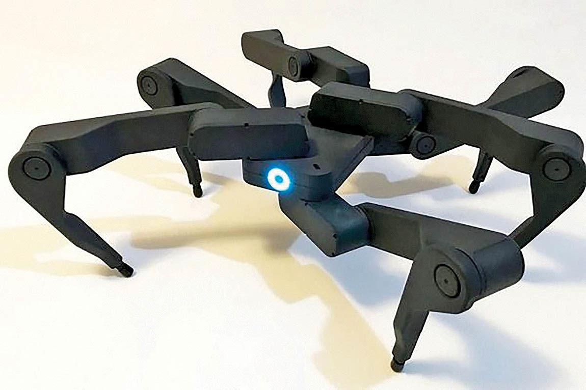 روباتی با قدرت مانور بالا