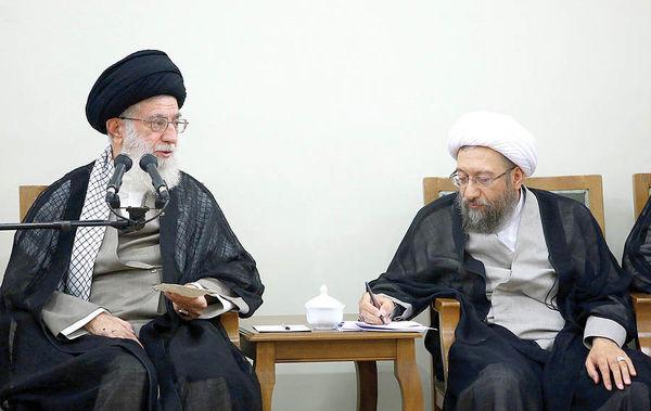 آیتالله آملی لاریجانی رئیس مجمع تشخیص مصلحت شد