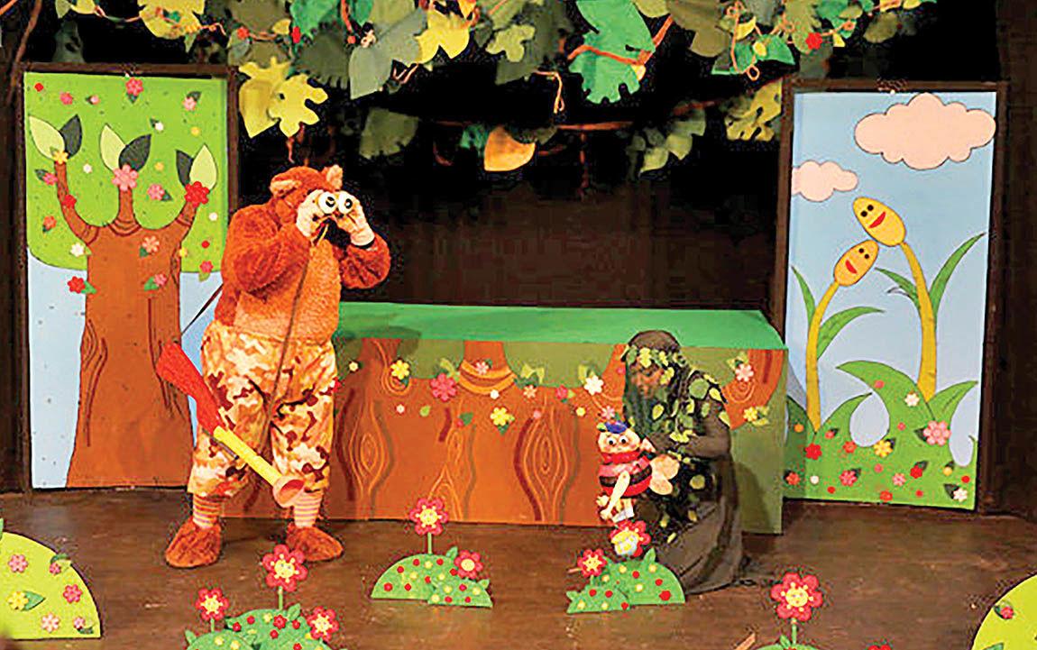 اجرای نمایشی برای کودکان با موضوع دروغگویی