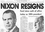رسوایی و استعفای نیکسون