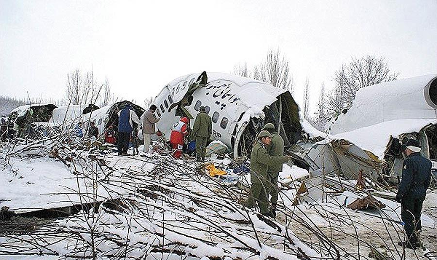سقوط بوئینگ 727