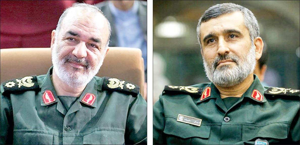 هشدار فرماندهان نظامی ایران به آمریکا