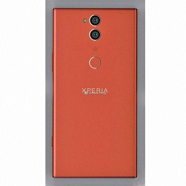 تصویر پنل پشتی Xperia XZ2 سونی با دوربین دوگانه عمودی