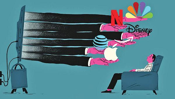 صنعت سرگرمی در مقابل غولهای تکنولوژی